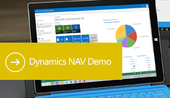 Dynamics NAV 2018 Demo