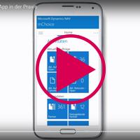 Die Navision App vorgestellt