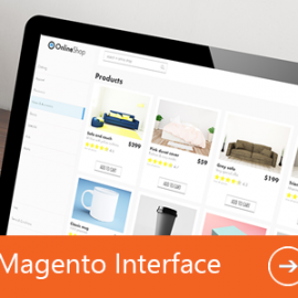 Neue Features Magento Interface
