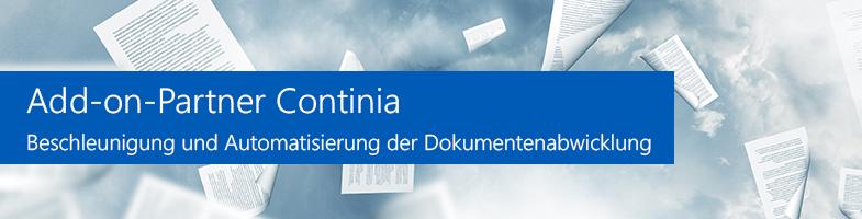 Continia - Beschleunigung und Automatisierung der Dokumentenabwicklung