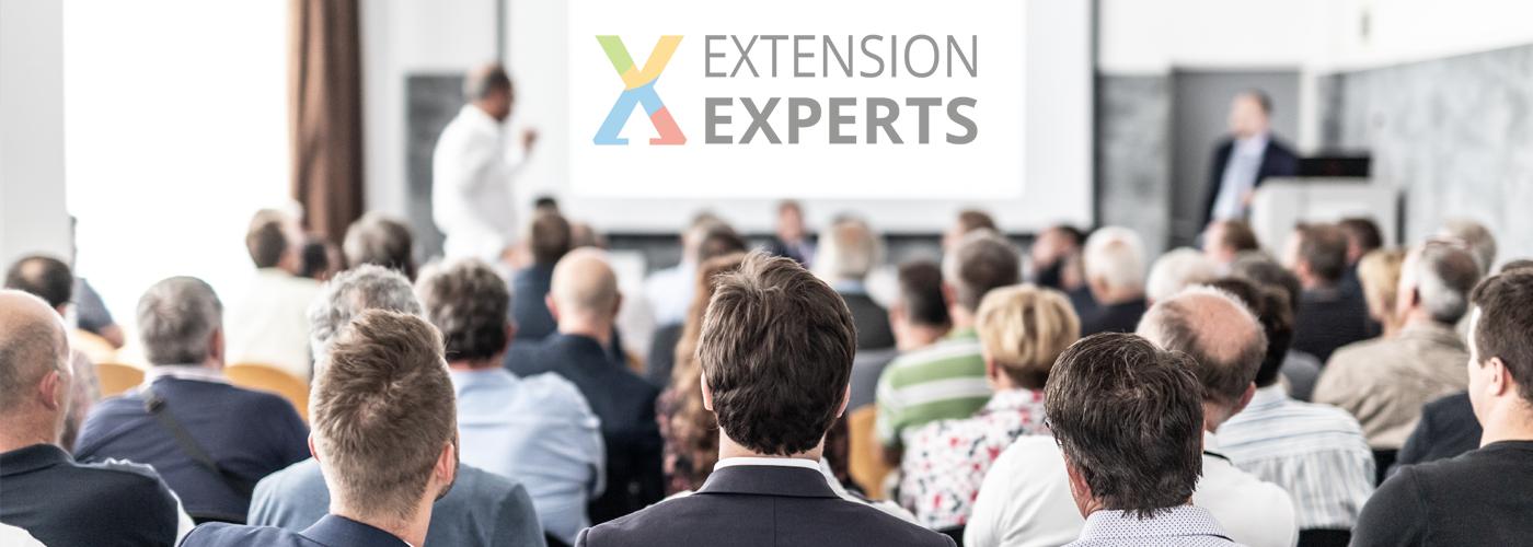 Besuchen Sie uns auf der Extension Expersts 2021!
